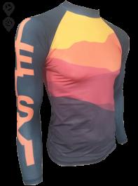 Camisa Lycra Manga Longa Jet Ski Sunset Proteção Solar UV UPF 50+