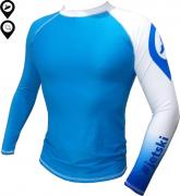 Camisa Lycra Manga Longa #Jetski Azul Proteção Solar UV UPF 50+
