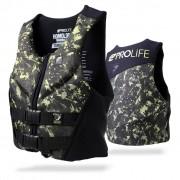 Colete Salva Vidas Neoprene Prolife Protech V3 Army Homologado pela Marinha