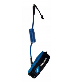 Leash Pro Bodyboard Espiral 6mm Mormaii Azul