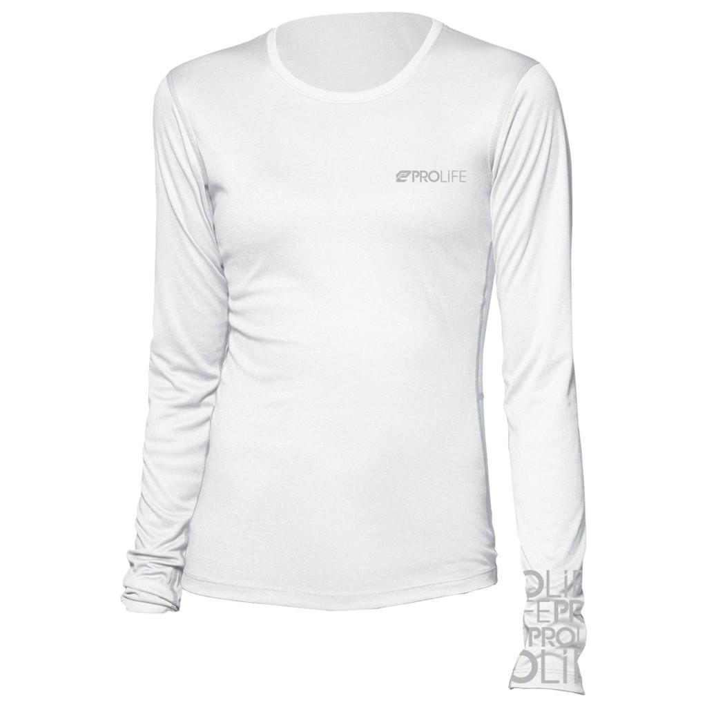 Camisa de Proteção Solar Manga Longa Feminina Prolife UV UPF 50+