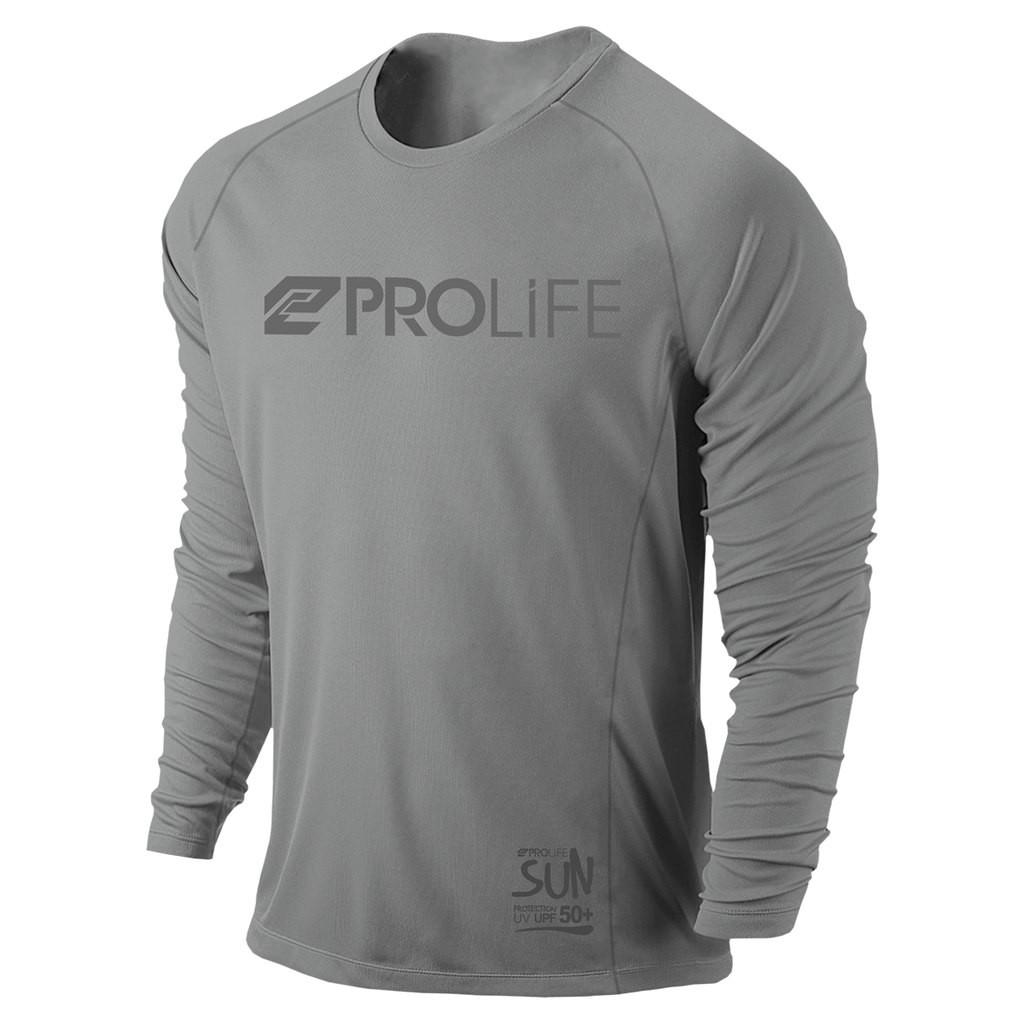 Camisa de proteção solar manga longa Masculina Prolife UV UPF 50+
