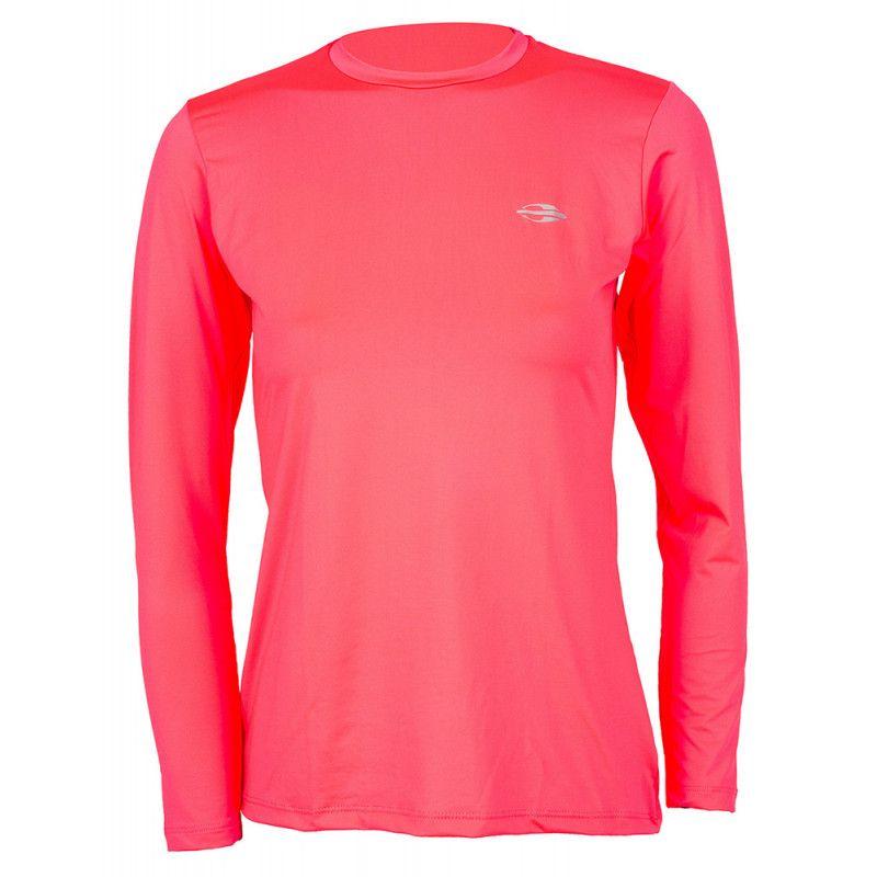 Camisa Feminina Manga Longa Dry Mormaii de Proteção Solar UV 50+ 0530ddf59abb9