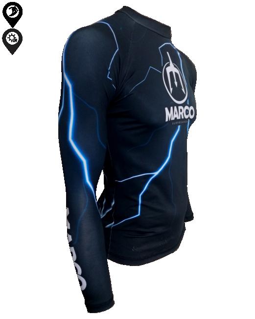 Camisa Lycra Manga Longa Raio Proteção Solar UV UPF 50+