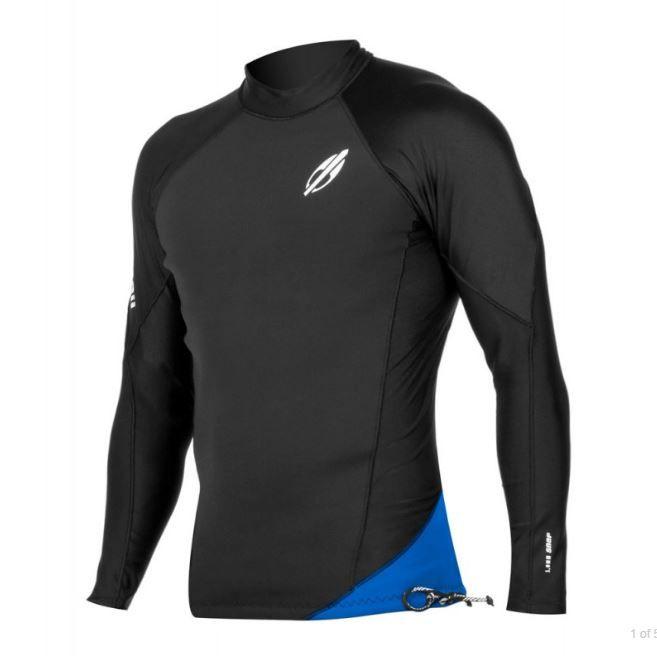 Camisa Mormaii Neoprene+Lycra Snap Manga Longa Proteção Solar UV UPF 50+ 669ce2c082