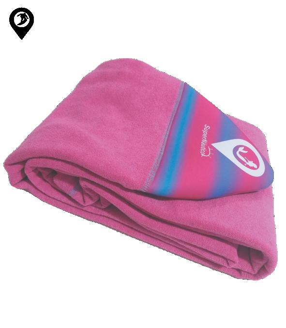 Capa de Malha Atoalhada Pink para Prancha de Surf 6'5/6'8