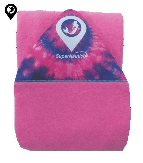 Capa de Malha Atoalhada Tie Dye para Prancha de Surf 5'8 / 5'10