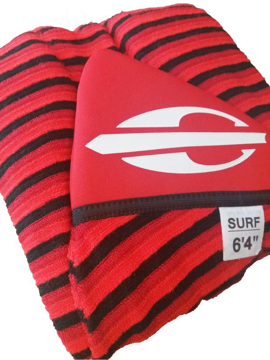 Capa Prancha de Surf Atoalhada Mormaii 6.4mm Camisinha