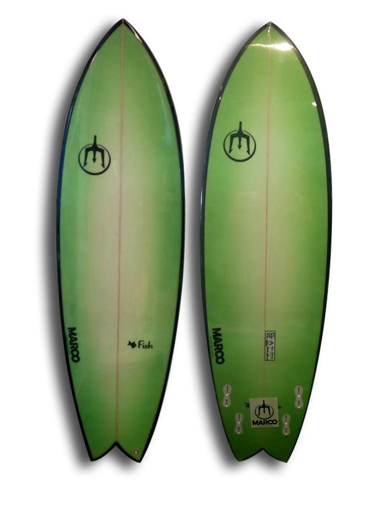 Prancha de Surf Fish 5'11 33,2 Litros