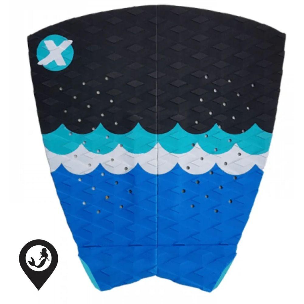 Deck Para Prancha de Surf Expans Luara Mandelli Wave Azul