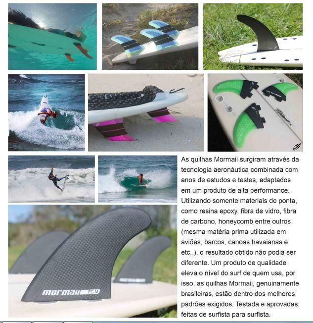 Jogo Tri Quilhas Thruster Hybrid Mormaii Large