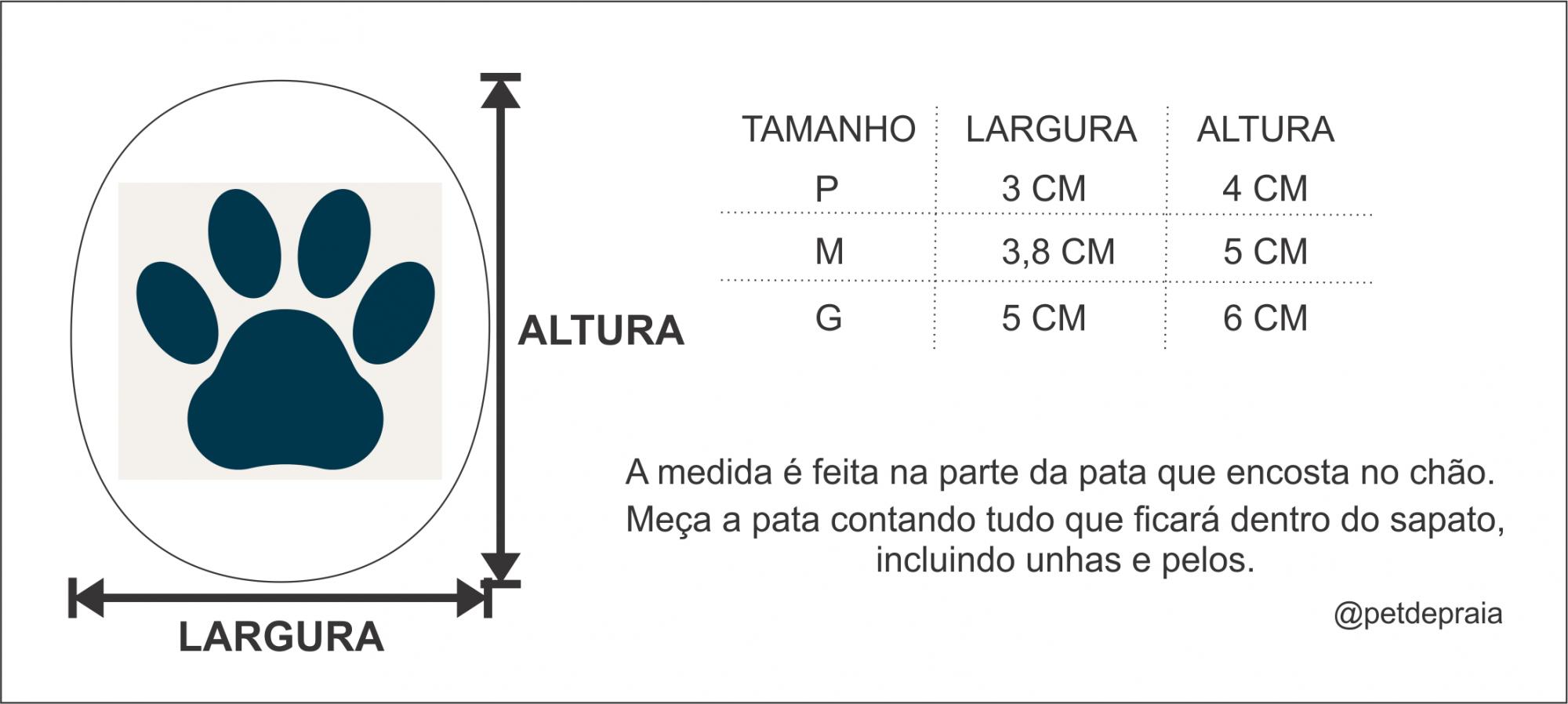 Kit 4 Sapatinhos 100% Algodão Dupla Face Blue Pet de Praia