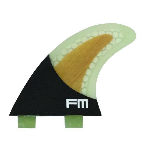 Kit de Quilhas de Carbono Fm Surf Carbon Flex FB3 Bamboo