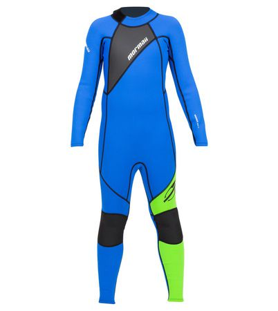 Long John Neoprene Infantil Mormaii Grom 4A 3.2mm - Back Zip
