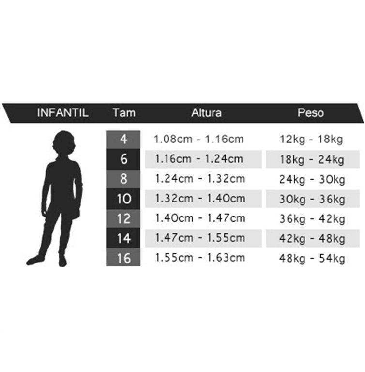 Long John Neoprene Infantil Mormaii Grom 4A 3.2mm - Back Zip