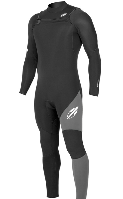 Long John Neoprene Masculino Mormaii Thunder III 3.2mm Vedado