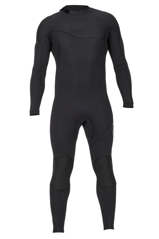 Long John Neoprene Masculino Mormaii Ultra Skin 3.2mm Vedado - Back Zip