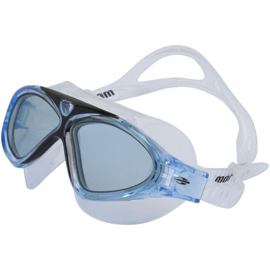 Óculos Mormaii Orbit Natação MultiSports Azul Lente Fumê