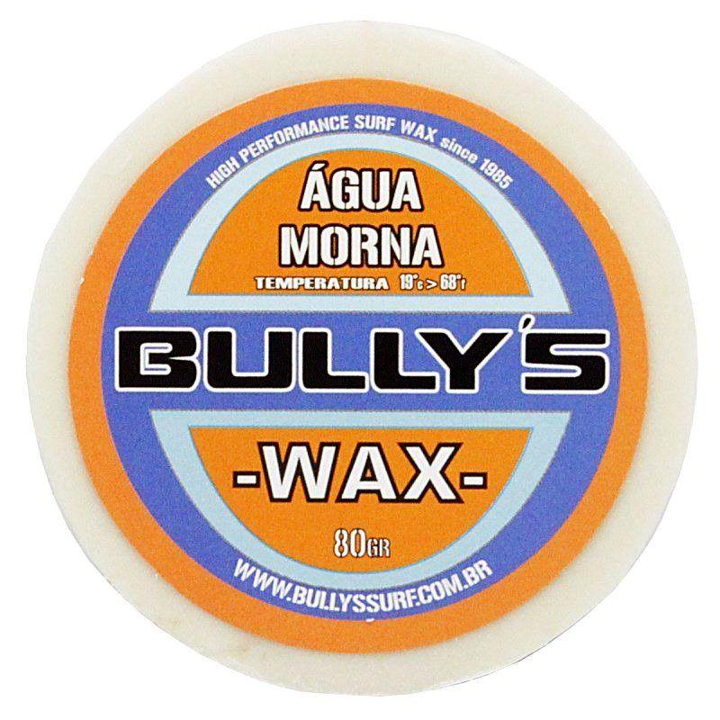 Parafina Bully's Wax Água Morna