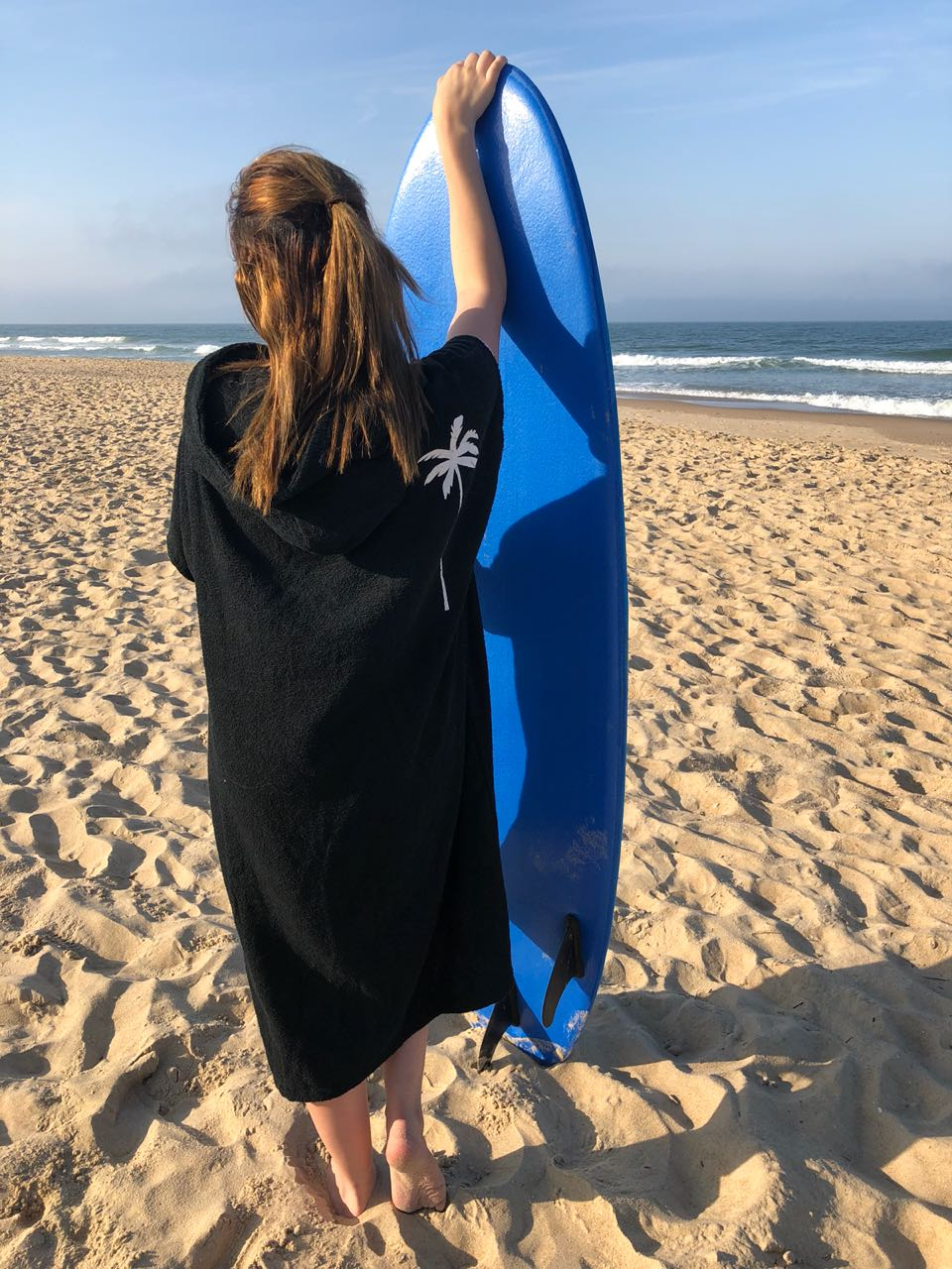 Poncho Toalha Capuz Duplo Brava Surf