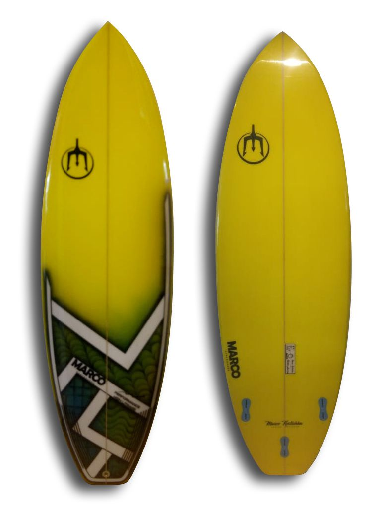 Prancha de Surf Performance High Litrage 6'0''