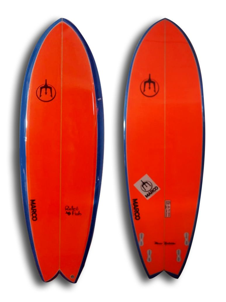 Prancha Surf Retro Fish 6'0