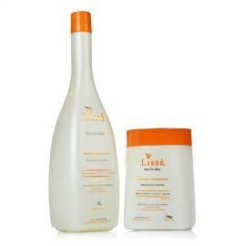 Kit Revigorante Shampoo 1 Litro Mascara De 1 Kg Lisse