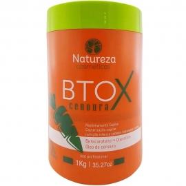 Botox de Cenoura sem formol 1 kg - Natureza Cosméticos