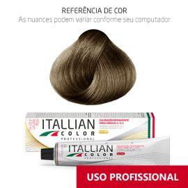 Coloração Profissional Louro Claro Cinza 8.1 (18) Itallian Color 60g