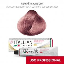 Coloração Profissional Louro Rosado UC4 Plus  Itallian Color 60g