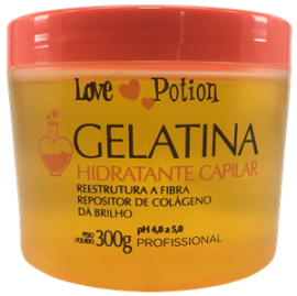 Gelatina Hidratante Capilar Love Potion 300 ml