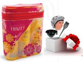Kit Manutenção Trivitt Color Com 3 Produto
