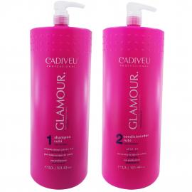 Kit Shampoo E Condicionador Glamour Plus Cadiveu 3 Litro