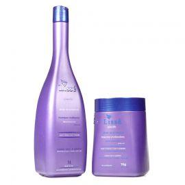 Kit Matização Silver And Blond - Shampoo e Condicionador 1 litro