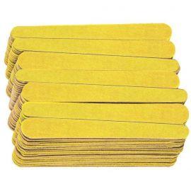 Lixa Canário amarelo para Unhas Com 144 Unidades
