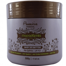 Máscara Botox Floractive Macadâmia Natural Oil 500 gr