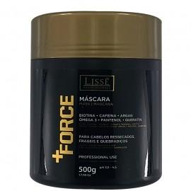 Máscara Hidratante +FORCE 500gr Lissé Profissional- Estimula o crescimento