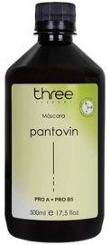 Máscara Hidratante Pantovin Three Therapy 500 ml – Crescimento saudável do fio