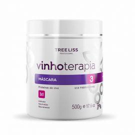 Mascará Hidratante VinhoTerapia Com Proteína Da Uva 500g - TreeLiss