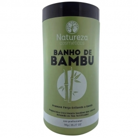 Máscara Reconstrutora Banho de Bambu 1 kg - Natureza Cosméticos