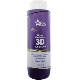 Matizador Magic Color 3D Blond Black - Efeito Cinza