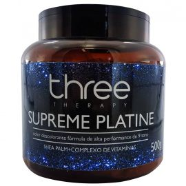Pó descolorante Supreme Platine 500g - Three Therapy