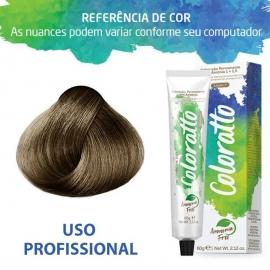 Tonalizante Profissional Louro Claro Cinza 8.1 (18) Itallian Color sem amônia 60g