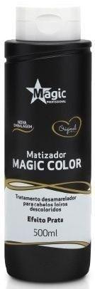 Matizado Magic Color  3d Preto Efeito Prata