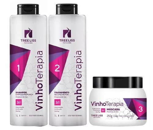 Botox Tree Liss Vinho Terepia  3 Passos Frete grátis