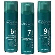Kit Manutenção  Innovator Shampoo E Condicionador Revitalizante  Shiny Gloss Elixir