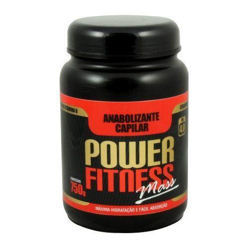 Anabolizante Capilar Hidratante  - Power Fitness Mass Floractive 750g