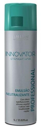 Emulsão Neutralizante De Straight Hair 1 Litro Innovator