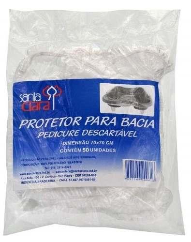 Protetor Descartável De Bacia Com 50 Unidade