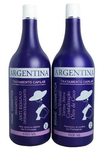 Escova Argentina Completa Com 2 Passos